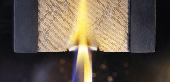 Огнестойкость и жаростойкость текстильных материалов